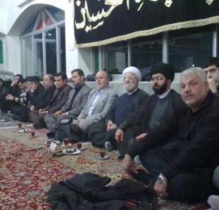 خمام - برگزاری مراسم عزاداری سالروز رحلت پیامبر (ص) در مسجد صاحبالزمان فشتکهی دوم