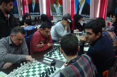 خمام - تیم شطرنج شهرداری خمام، صدرنشین موقت لیگ برتر شطرنج گیلان