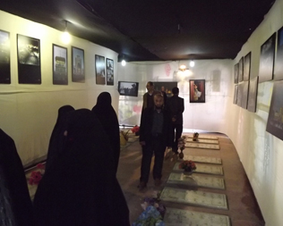 خمام - نمایشگاه «ضریح مهربانی» افتتاح گردید