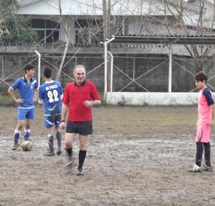 خمام - تیم نوجوانان شهرداری خمام در مصاف آبیپوشان رشت به تساوی دستیافت