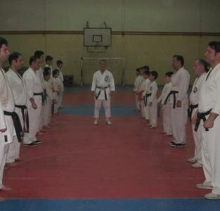 خمام - برگزاری اولین استاژ فنی کاراته در سال 92
