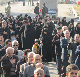 خمام - مراسم عزاداری اربعین حسینی برگزار شد