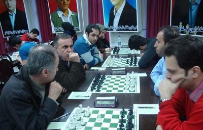 خمام - تیم شطرنج شهرداری خمام همچنان در جایگاه سوم لیگبرتر گیلان