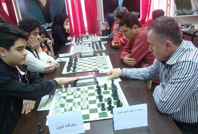 خمام - تیم شطرنج شهرداری خمام همچنان در جایگاه سوم از مسابقات لیگ برتر گیلان