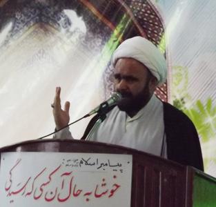 خمام - امام خمینی (ره) رهبر ابرقدرت شرق را به سبک زندگی اسلامی دعوت کرد