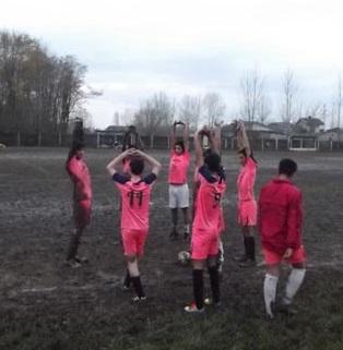 خمام - تساوی 1 بر 1 تیم نوجوانان شهرداری خمام در مقابل جوانان جلال آستانه