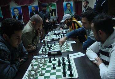 خمام - تیم شطرنج شهرداری خمام در جایگاه سوم لیگ برتر گیلان قرار گرفت