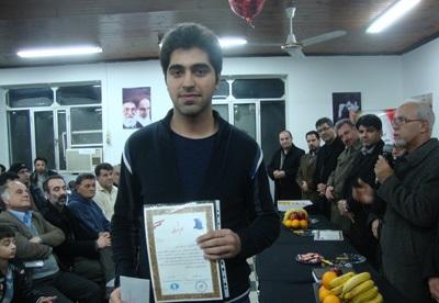 کسب مقام اول «امیررضا پوررمضانعلی» در مسابقات شطرنج جام فجر آستارا