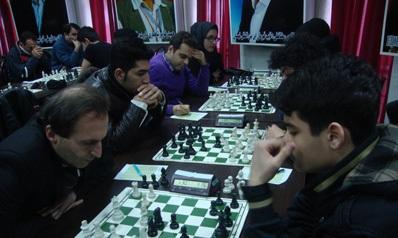 خمام - تیم شطرنج شهرداری خمام مقام سوم لیگبرتر گیلان را بهخود اختصاص داد