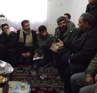 خمام - دیدار با خانوادهی شهید محمود صادقی