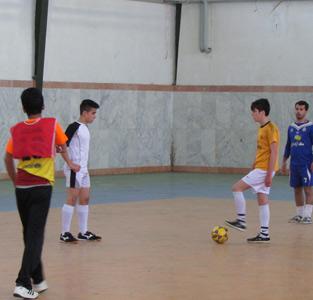 اولین دوره از مسابقات فوتسال جام فجر بین پایگاههای بخش خمام برگزار شد
