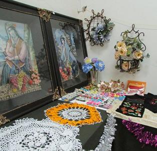 خمام - برپایی نمایشگاه تولیدات و صنایع دستی در کانون شهید حقشناس خمام