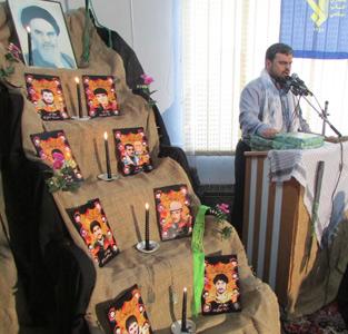خمام - مراسم هفتمین سالگرد شهادت «محمدرضا حسابیفرد» در روستای تیسیه برگزار شد