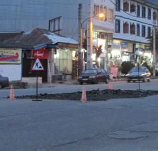 احداث میدان جدید در مقابل ادارهی پست
