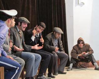 شوخی با هنرمندان «گروه قاصدک» + پشت صحنه
