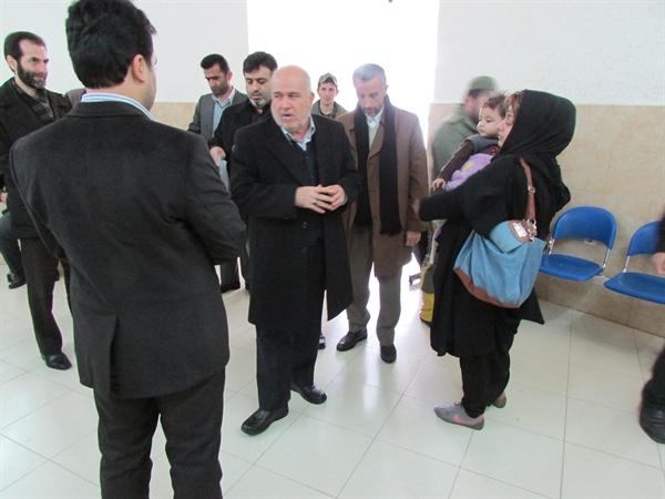 بازدید مدیرکل دادگستری استان گیلان از حوزهی قضایی بخش خمام