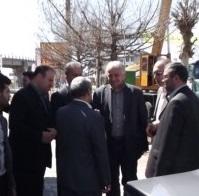بازدید نوروزی فرماندار رشت از خمام