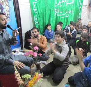 برگزاری جشن میلاد حضرت زینب (س) در پایگاه شهری شهید شیرودی خمام
