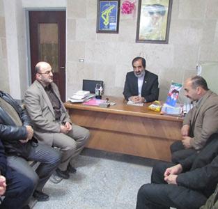 خمام - برگزاری جلسهی هماهنگی مراسم ایام فاطمیه توسط هیئت آل محمد (ص)