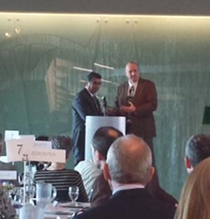 اهدای جایزهی ممتاز دیپلماسی بینالمللی به «پروفسور رضا نصیری»