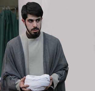 برگزاری مراسم عمامهگذاری حجتالاسلام علیرضا صادقی در دفتر آیتالله مکارم شیرازی