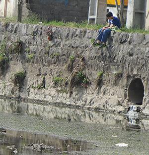 خمام - ماهیگیری در خمامرود