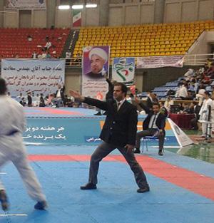 «علیرضا نوروزی» به مسابقات کاراتهی غرب آسیا در کشور عربستان اعزام میشود