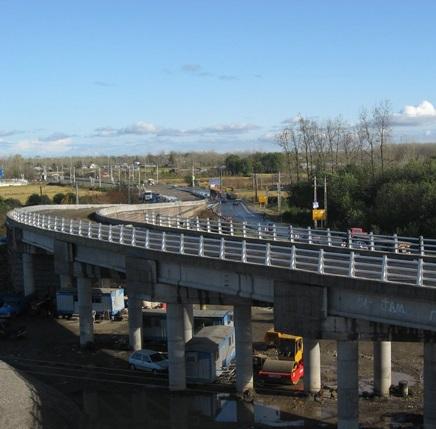 خمام - پل روگذر شهر خمام مرمت میشود