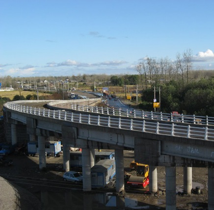 پل روگذر شهر خمام مرمت میشود