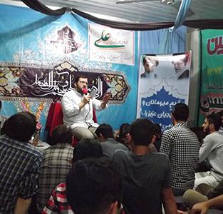 خمام - برگزاری جشن میلاد حضرت علی (ع) در پایگاه شهید شیرودی و مساجد بخش خمام