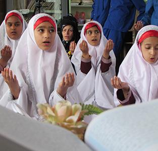 جشن قرآن و جشن تکلیف دانشآموزان مدرسهی شهید فیاضبخش برگزار شد