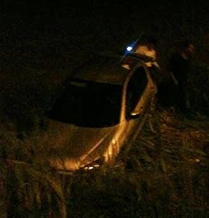 پلاک خودروی پراید متواری در صحنهی تصادف با خودروی پژو 206 جا ماند