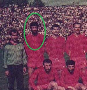فوتبالیست خمامی و آقای گل سپیدرود رشت در دههی 60