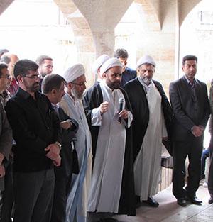 مراسم سالروز رحلت امام خمینی (ره) در خمام برگزار شد