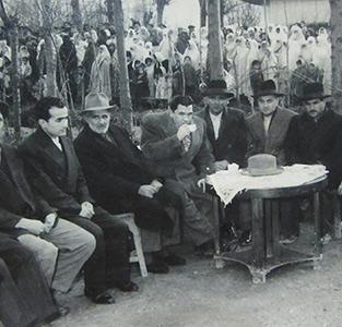 جشن افتتاح برق خمام در دههی 30