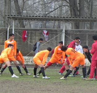 خمام - پیروزی 2 بر 1 تیم نوجوانان شهرداری خمام در مقابل باشگاه هلال احمر رشت