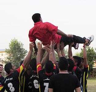 «شهید فانی» قهرمان مسابقات فوتبال جام دهیاریهای خمام در ردهی بزرگسال