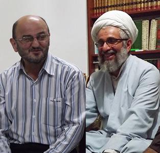 خمام - دیدار با «سیدتقی موسوی» و «حجتالاسلام والمسلمین مهدی صادقی» در روز جانباز