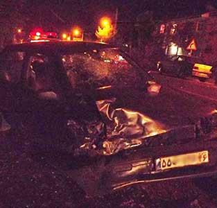 3 حادثه دیدهی تصادف 2 دستگاه خودروی پراید به بیمارستان منتقل شدند