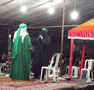 برگزاری مراسم تعزیه خوانی در دهستان چوکام