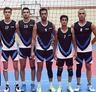 قهرمانی تیم «گندم» هیئت والیبال خمام در مسابقات والیبال جام رمضان