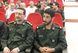 خمام - «جمشید اصحابی» بهعنوان فرماندهی سپاه ناحیه مقداد معارفه شد