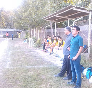 خمام - برد 1 بر 0 تیم شهید ایوب در مقابل دوستان خواچکین