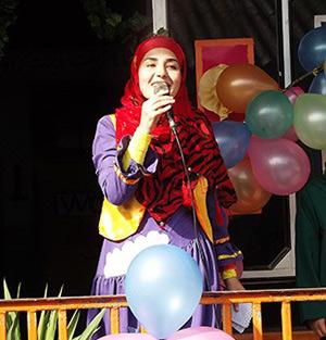 خمام - زنگ بازگشایی مهر با حضور خاله باران در مدرسه سردارجنگل به صدا درآمد