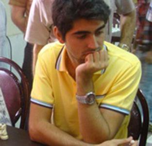 خمام - حضور امیررضا پوررمضانعلی در مسابقات بینالمللی شطرنج آزاد باکو