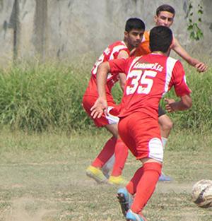 خمام - برد 12 بر 1 تیم فوتبال نوجوانان شهرداری خمام در مقابل شهید اسدپور رشت