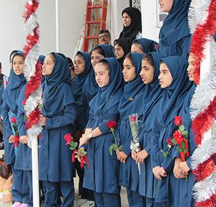 خمام - جشن بازگشایی دبیرستان غیردولتی دخترانه «سفیر دانش» برگزار شد