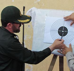 خمام - برگزاری مسابقهی تیراندازی با تفنگ بادی