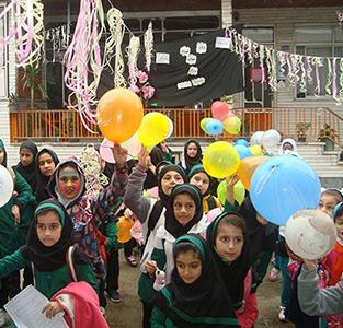 جشن روز جهانی کودک و جشن عاطفهها در مجتمع سردار جنگل و خاتم برگزار شد