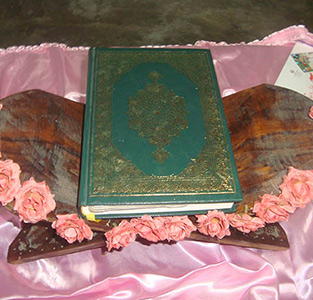 جشن شکرگزاری قرآن کریم در مجتمع آموزشی دخترانه خاتم (ص) برگزار شد